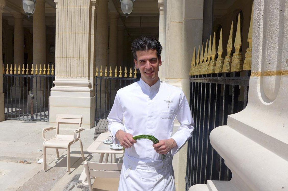 Филип Хронопулос, шеф-повар Restaurant du Palais Royal