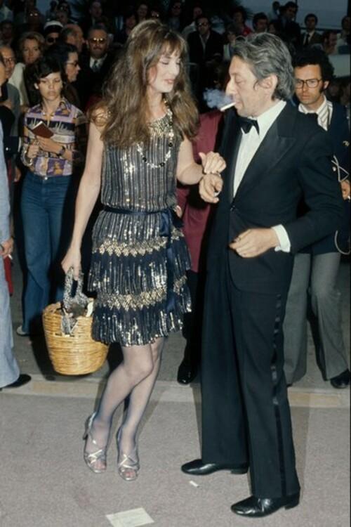 Джейн Биркин и Серж Генсбур, 1974