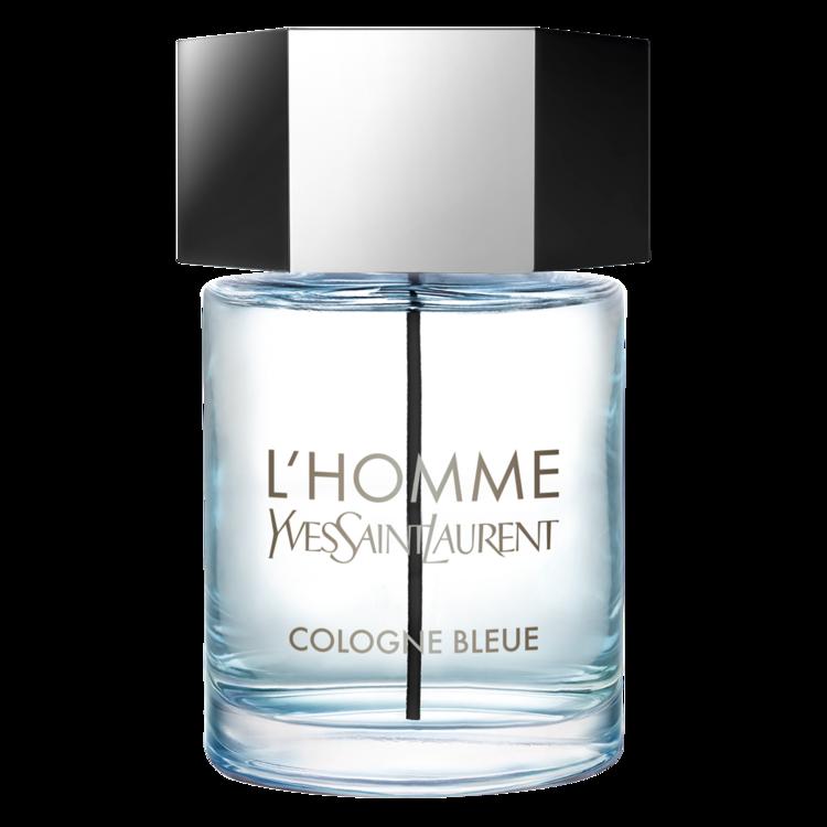 L'Homme Cologne Bleue, YSL, з нотами грейпфрута, моря і пачулі