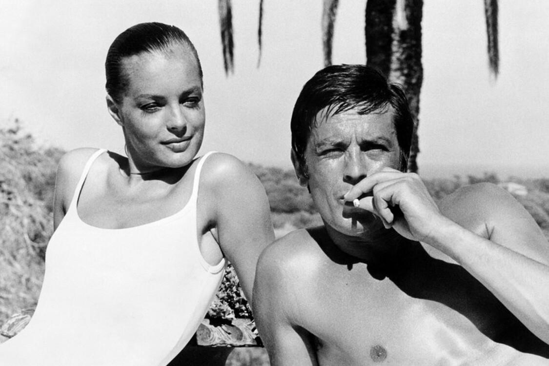 Ромі Шнайдер і Ален Делон, 1968