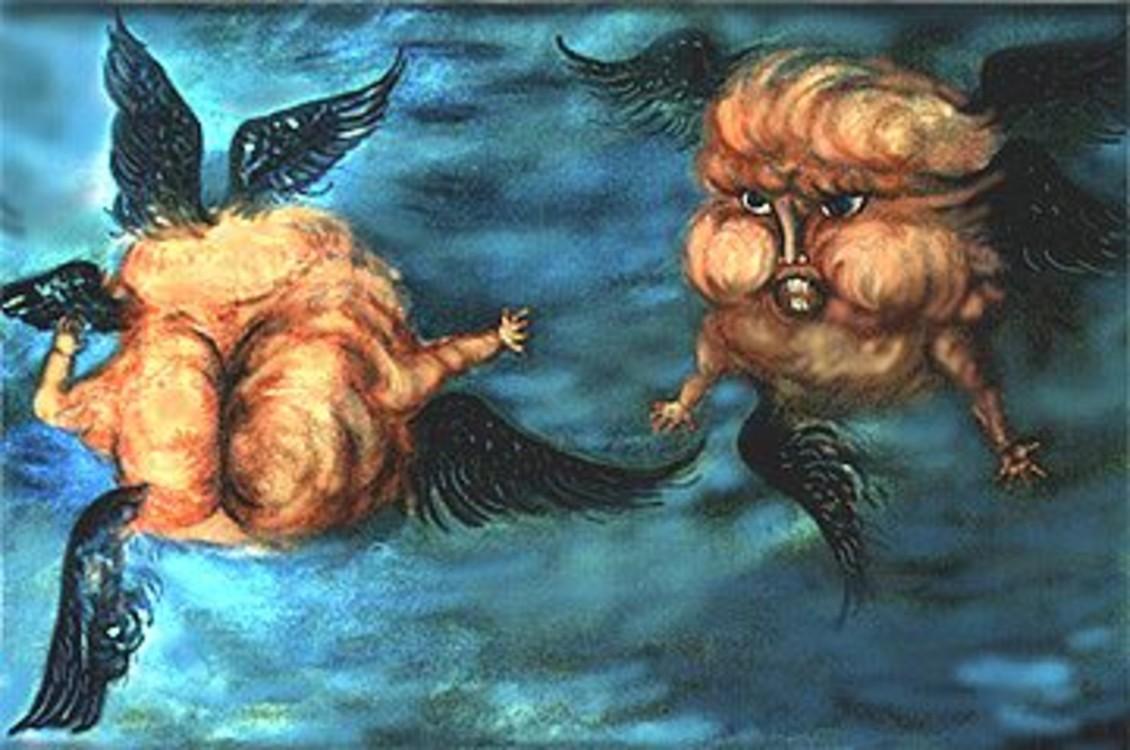 """""""Прохлада небес"""", 1990"""