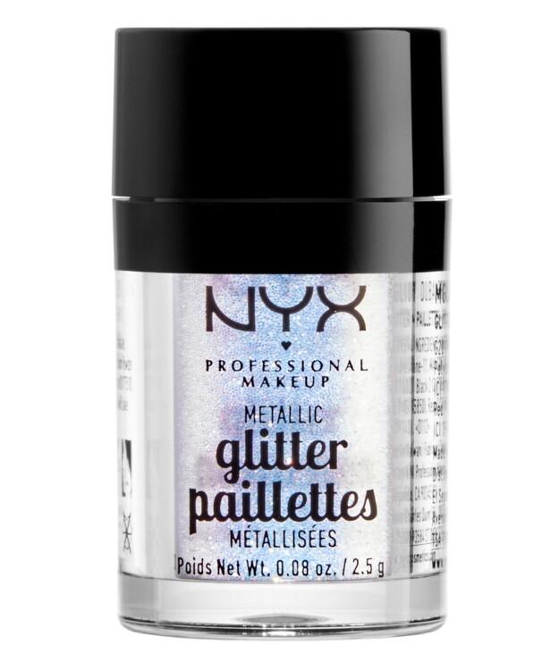 Глиттер для лица и тела из коллекции Glitter Pailettes, NYX