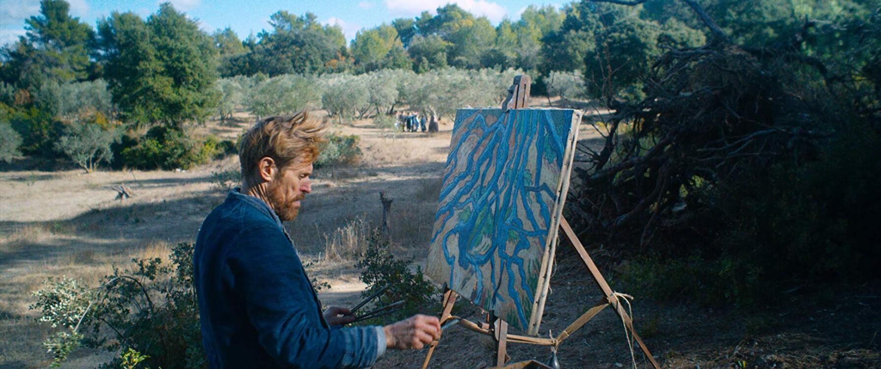 Віллем Дефо у фільмі «Ван Гог. На порозі вічності», 2018