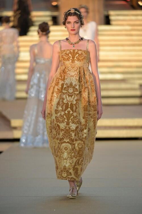 Настя Абрамова / Dolce & Gabbana