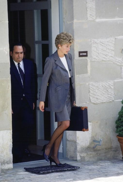 Принцесса Диана на встрече Красного Креста в Женеве