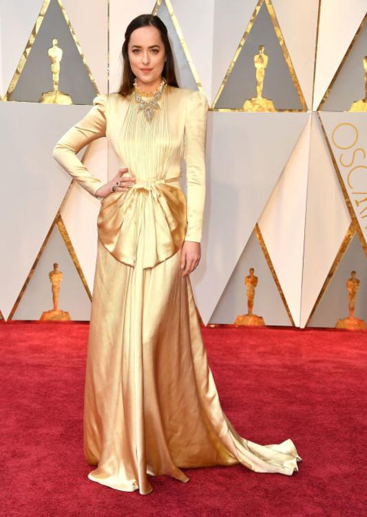 В платье Gucci на 89-й премии Оскар