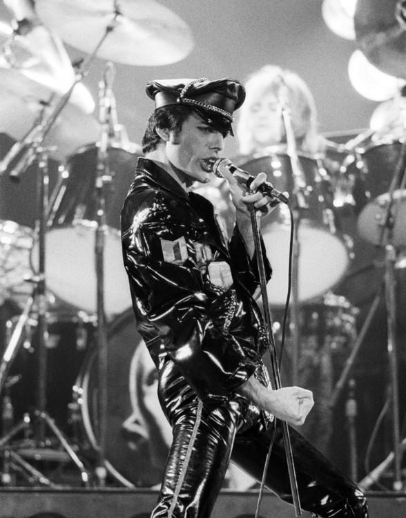 На концерте в Окленде, 1978 год