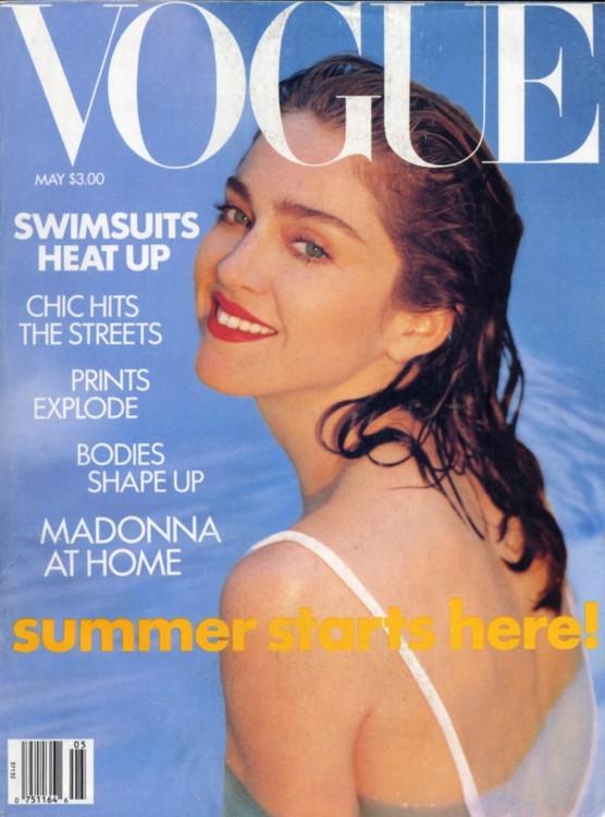 Vogue US, май 1989