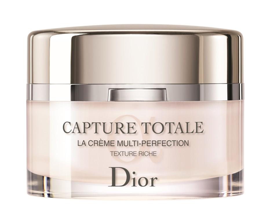 Омолоджувальний крем Dior Capture Totale Multi-Perfection Texture Riche, Dior, з живильною текстурою, що огортає шкіру
