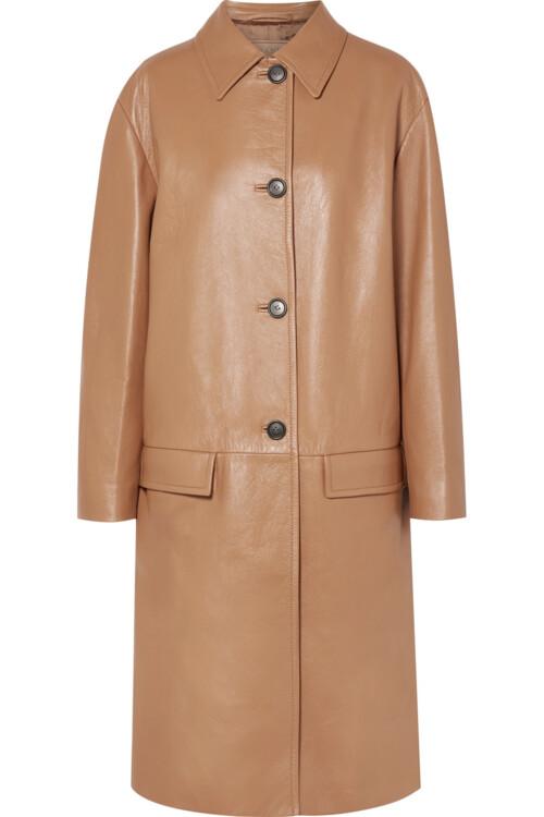 Шкіряне пальто, Prada