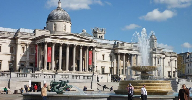 Национальная галерея, Лондон, Великобритания (5 736 000 посетителей в 2018 году)