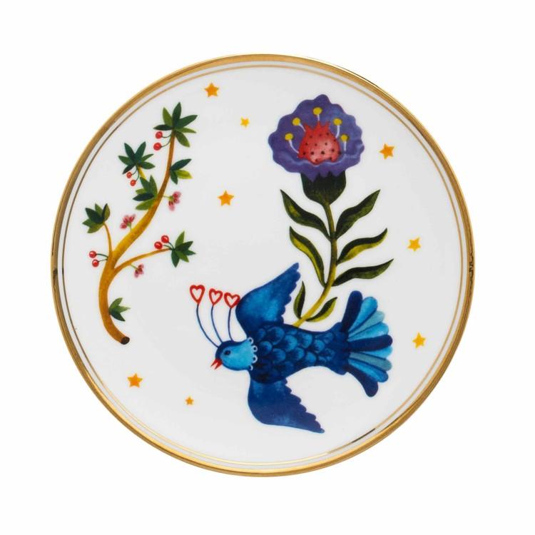 Тарелки Flower Eye, Little Bird, Bitossi Home