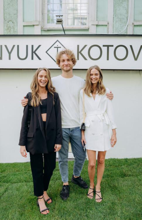 Кристина Котович, Максим и Ирина Тыднюк
