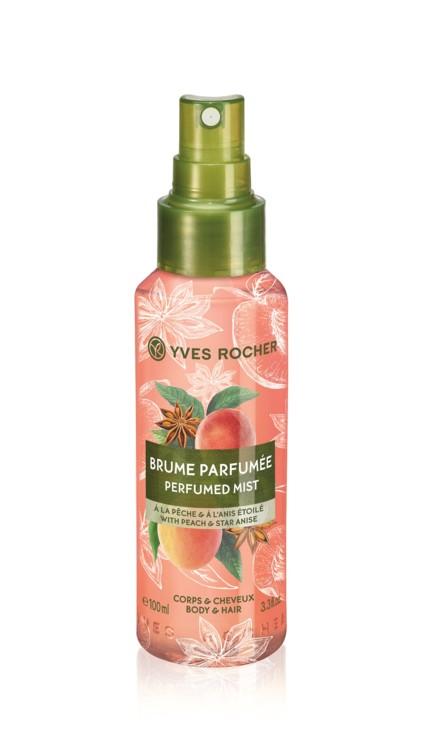 Димка-спрей для тіла і волосся з ароматом персика і анісу, Yves Rocher