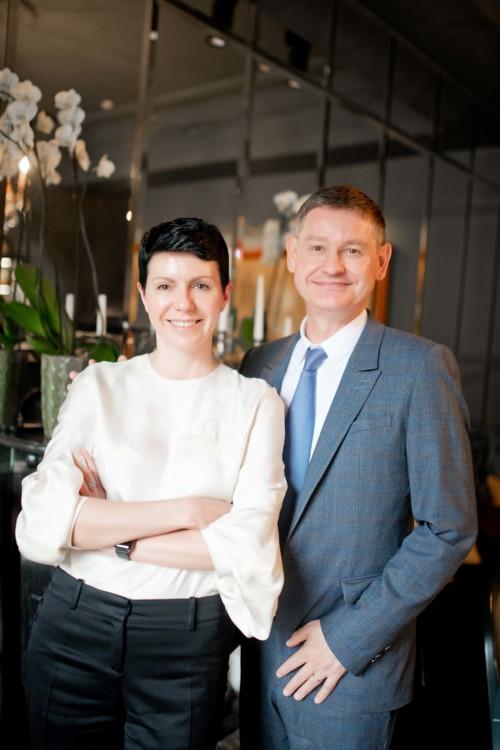 Марина Щербенко и Сириль Виньерон