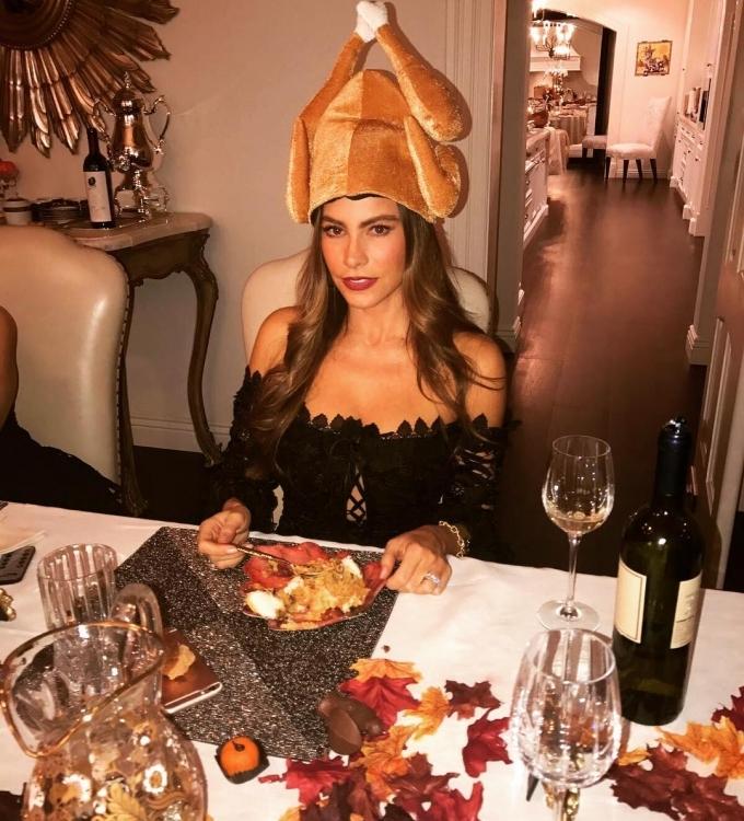 День Благодарения Софии Вергары