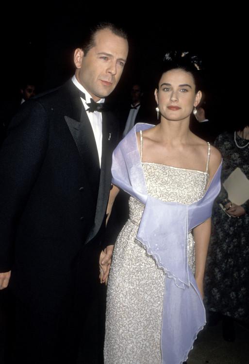 Брюс Уиллис и Деми Мур, 1990