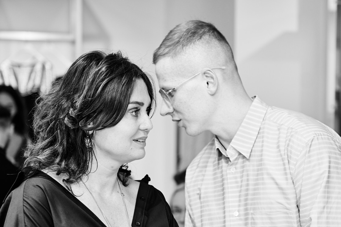 Христя Храновська і Веня Брикалін