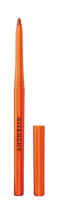 Водостойкий карандаш для глаз Khôl Couture Waterproof № 9 Tangerine из летней коллекции макияжа Solar Pulse, Givenchy