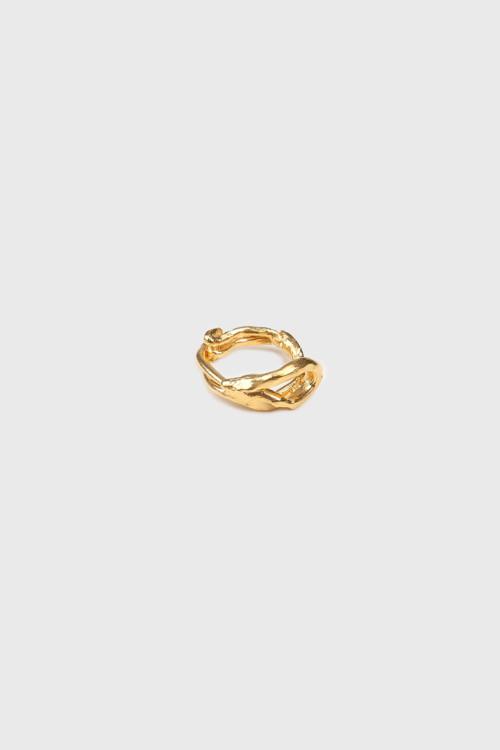Кольцо, позолоченное серебро, Alighieri Jewellery