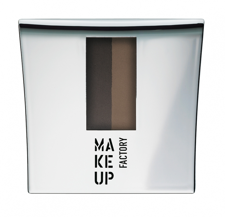 Пудра для бровей Eye Brow Powder, № 1, Make Up Factory