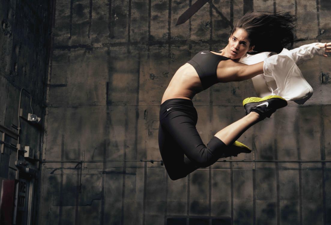 София Бутелла в рекламе Nike