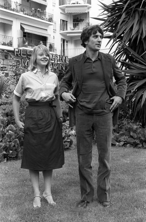 Джоди Фостер и Роберт де Ниро, 1976