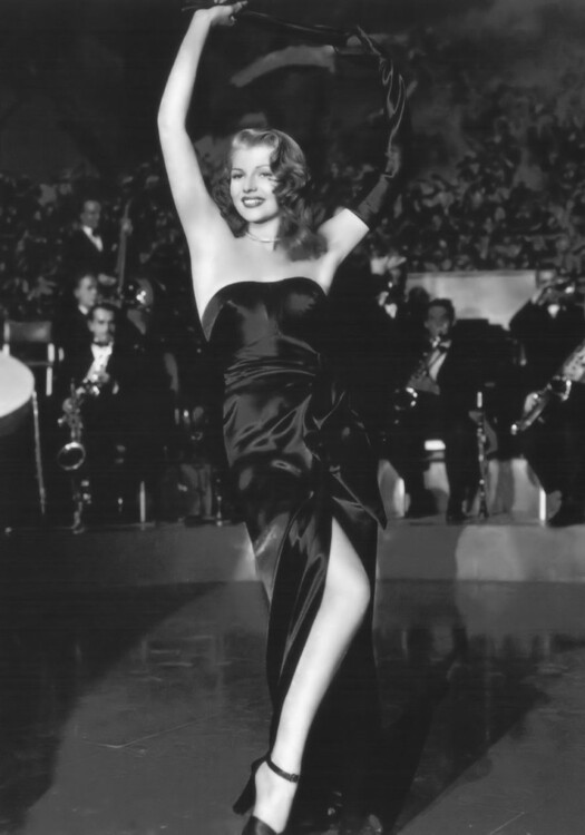Рита Хейворт в фильме «Гильда», 1946