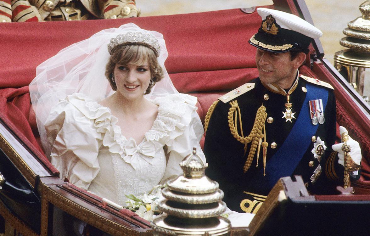 Леді Діана Спенсер і принц Чарльз 29 липня 1981