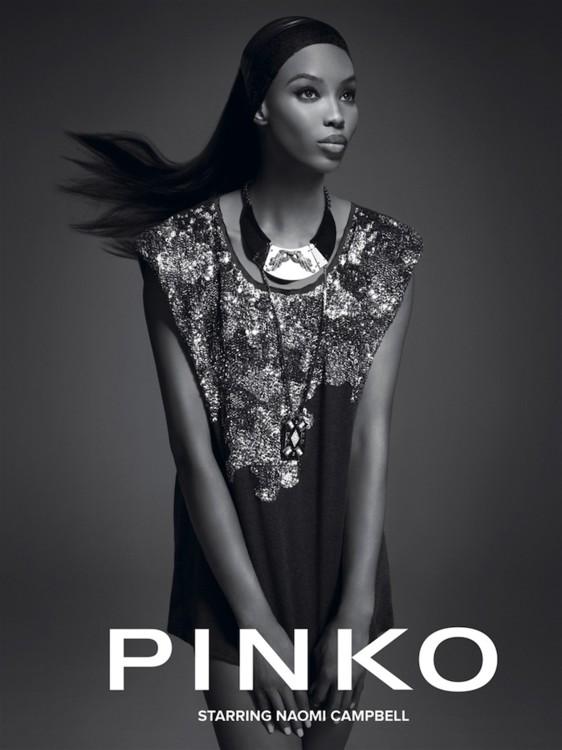 Рекламная кампания Pinko осень-зима 2012/13, фото: Дэнеэль Дуелла и Ианго Хензи