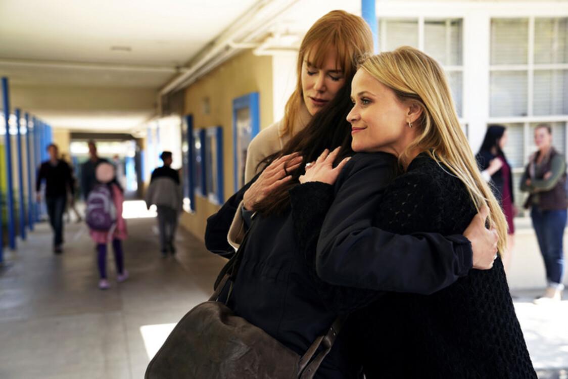 Ніколь Кідман і Різ Візерспун у серіалі «Велика маленька брехня»