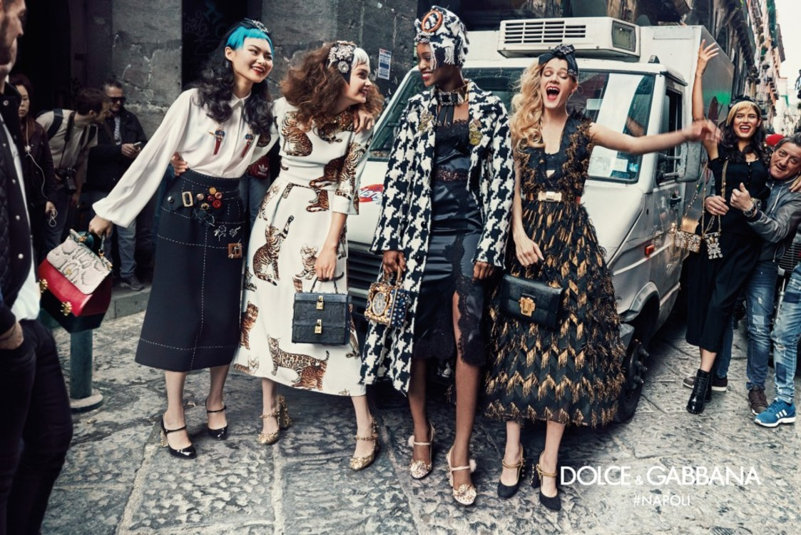Рекламная кампания Dolce & Gabbana, посвященная Неаполю