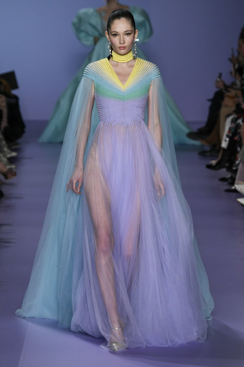 Віка Ігнатенко на шоу Georges Chakra Couture весна-літо 2020