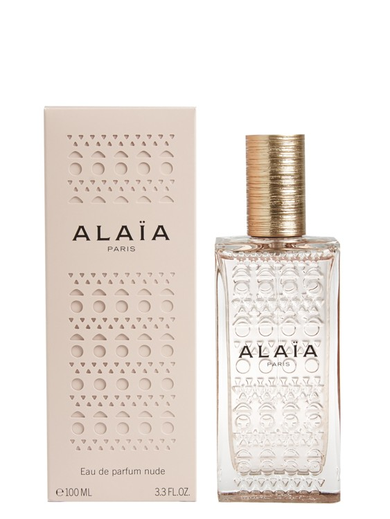 Nude Eau de Parfum, Alaïa Paris, посвященный теплой коже, с анималистическими и мускусными нотами, нотами кедра, сандала, бобов тонка и флердоранжа