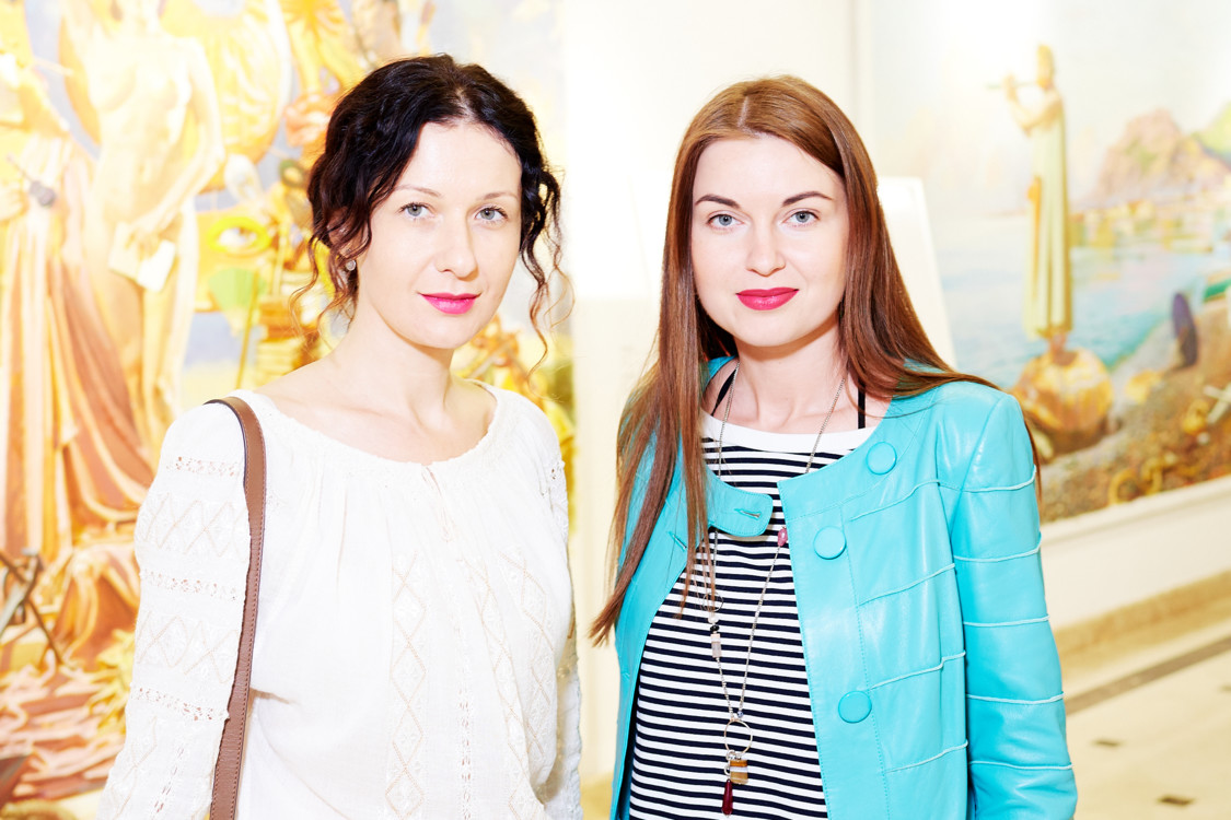 Светлана Рощук и Елена Добрынская