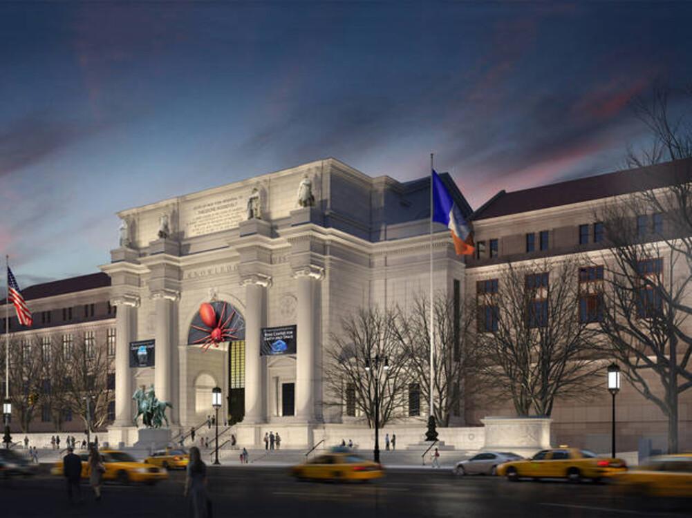Американский музей естествознания, Нью-Йорк, США (5 000 000 посетителей в 2018 году)