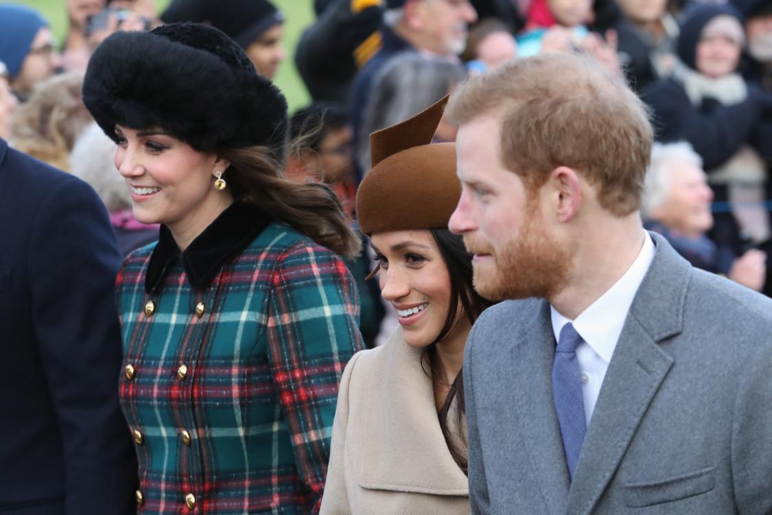 Кэтрин, герцогиня Кембриджская, Меган Маркл и принц Гарри