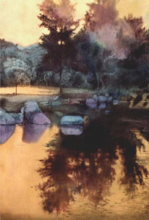 Середина 1990-х, живопись