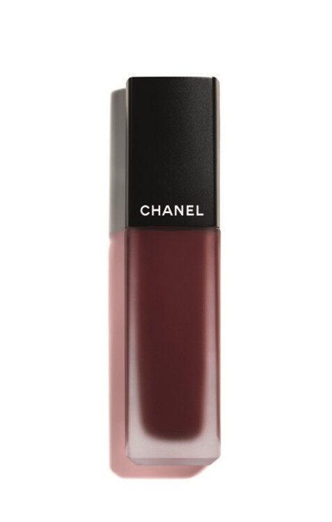 Рідка матова помада для губ Rouge Allure Ink Fusion №828 Rouge Noir, Chanel (у продажу з жовтня)