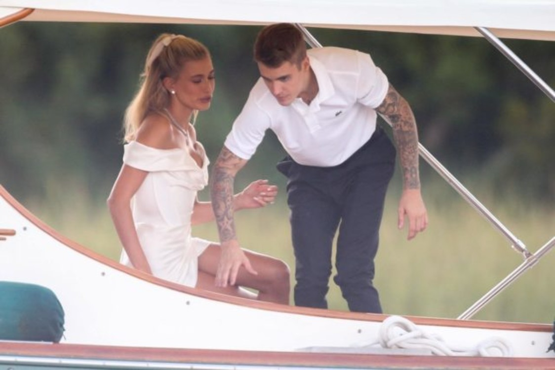 Первые снимки со свадьбы Биберов