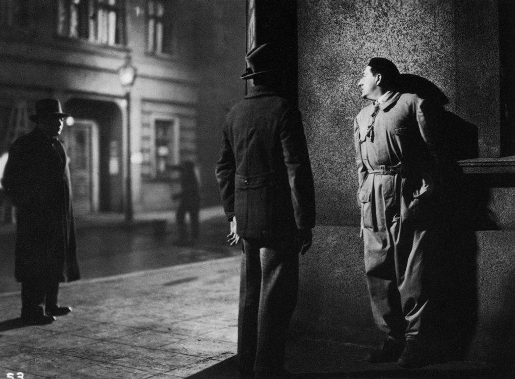 "Кадр из фильма ""М"", 1931"