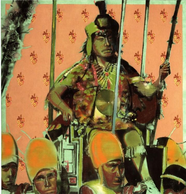 Олег Тистол, 2001, Непальцы, холст, масло, 160,5 х 157 см