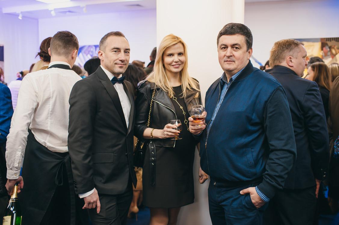 Олег Кукаев и Герман Волга с супругой