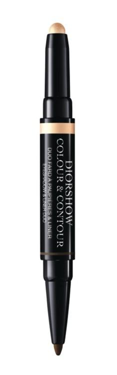Стойкие тени-лайнер Colour And Contour 2 в 1 Diorshow оттенка Shell Bronze, Dior