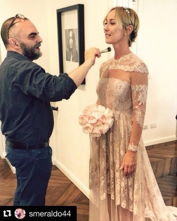Фрида Джаннини в платье Valentino Haute Couturе
