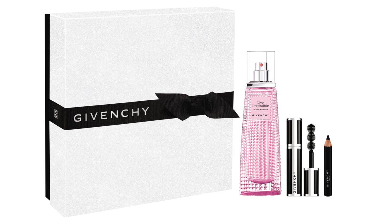 Праздничный набор: аромат Live Irresistible Blossom Crush, тушь и карандаш в travel-формате, Givenchy