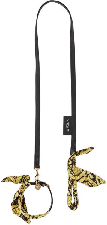Поводок и ошейник, Versace