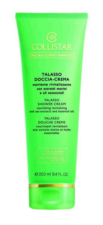 Крем-гель для душа с водорослями и морской солью Talasso Doccia-Crema, Collistar