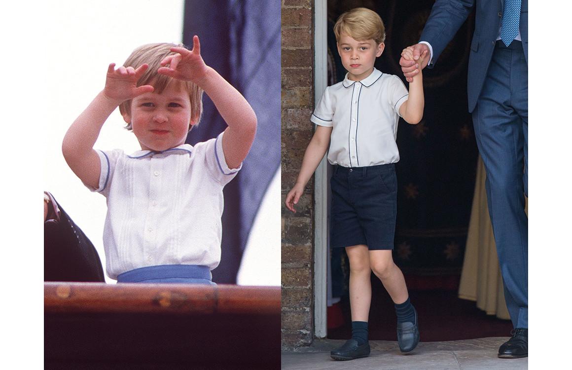 Принц Уильям 1985 / принц Джордж 2018