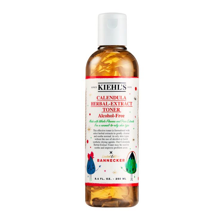 Бесспиртовой тоник с календулой для нормальной и жирной кожи. Calendula Herbal Extract Alcohol-Free Toner, Kiehl's
